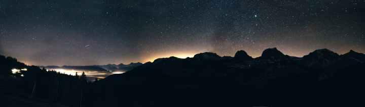 astronomy constellation dark dawn
