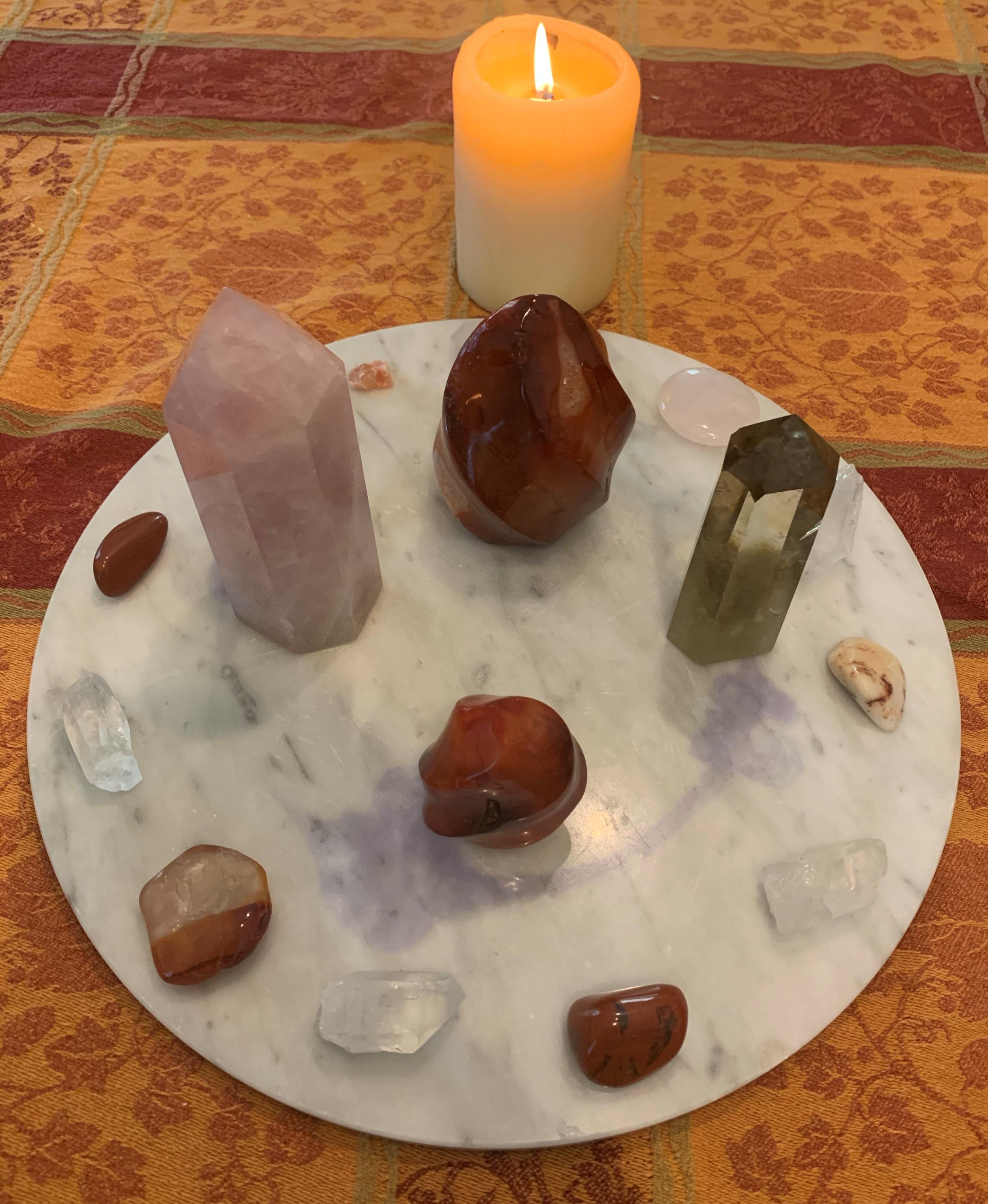 solstice crystal grid